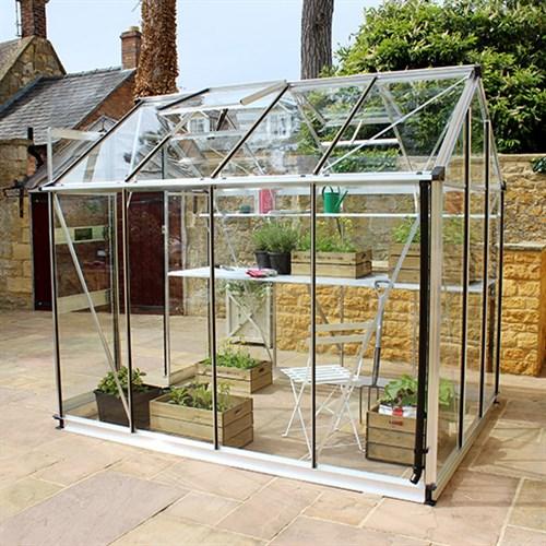 Lite drivhus for hage eller terrasse
